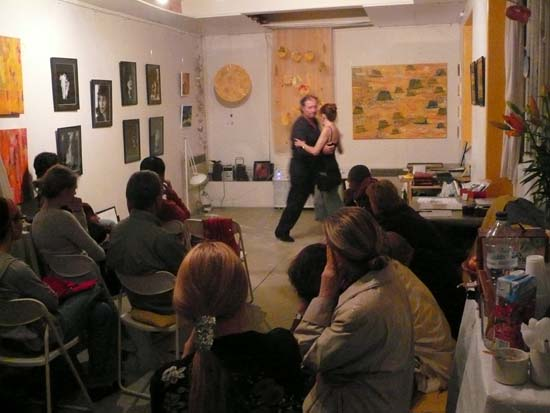 Demonstration de tango 2008