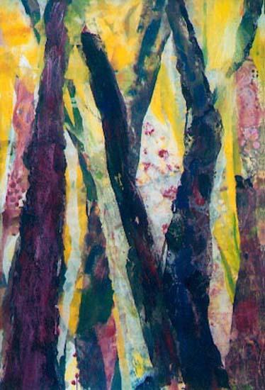 Bois N° 4 130x89cm