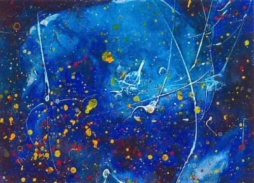 Poussiere d\'étoile 17  - 14x20-cm