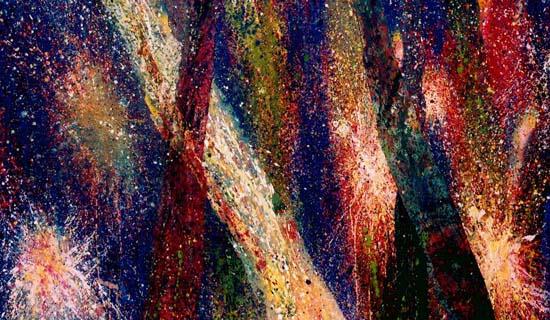 Etincelles 3  - 97x162cm -