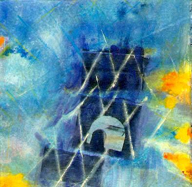 Bleu-1 -20x20cm-